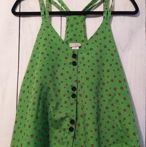 Celine crop tank blouse